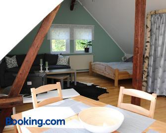 'Ferienwohnung Am Tharandter Wald' - Wilsdruff - Bedroom