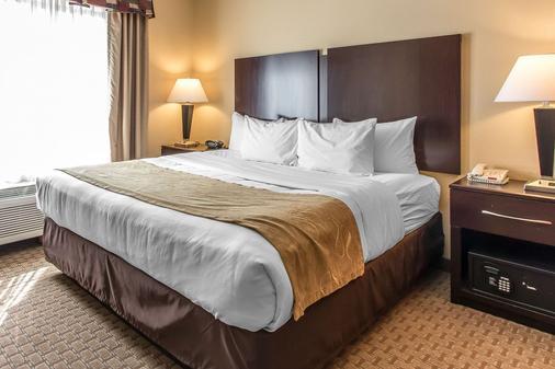 Comfort Suites Lawton-Ft Sill - Lawton - Makuuhuone