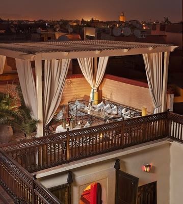 Riad 58 Blu - Μαρακές - Μπαλκόνι