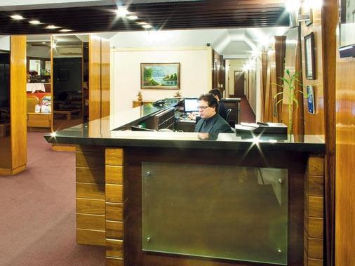 Hotel Balfer - Montevideo - Front desk