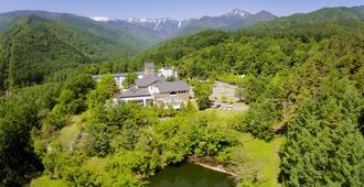Azumino Hotaka View Hotel - Azumino - Outdoors view