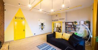 Hotel Bee Station - Hostel - Kiev - Sala de estar