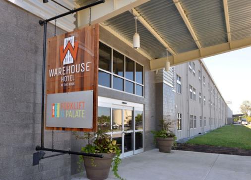 Warehouse Hotel - Manheim - Gebäude