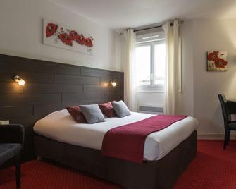 The Originals City, Hôtel Du Château, Pontivy (Inter-Hotel) - Понтіві - Спальня