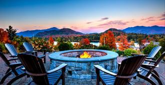 普雷西德湖皇冠假日酒店 - 普雷西德湖 - 普萊西德湖(紐約) - 陽台