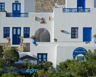 Pegados Apartments - Folegandros - Building