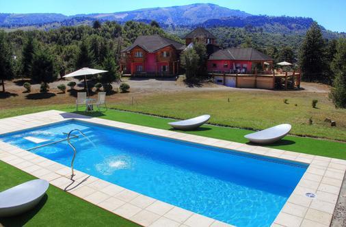 Puerto Malen - Club De Montaña - Villa Pehuenia - Pool
