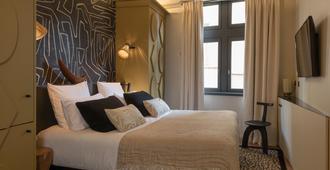 La Tour Rose - ליון - חדר שינה