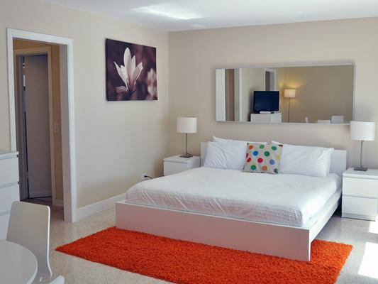Winterset A North Beach Village Resort Hotel - Fort Lauderdale - Phòng ngủ