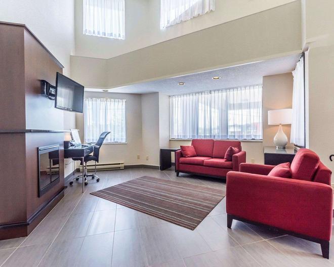 Comfort Inn - Thetford Mines - Living room
