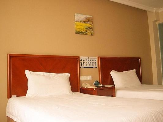 Greentree Inn Chongqing Jiulongpo District Xiejiawan Express Hotel - Чунцин - Спальня