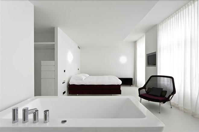馬斯垂克澤登設計酒店 - 馬斯垂克 - 馬斯特里赫特 - 臥室