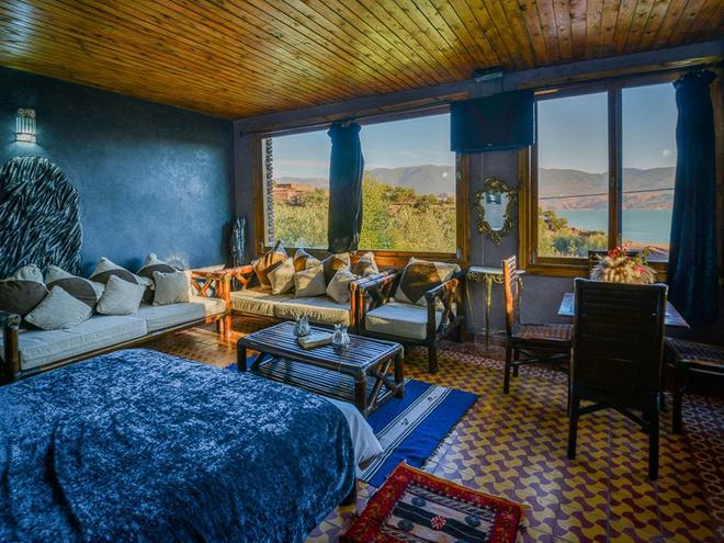 Hôtel Bin El Ouidane - Bine el Ouidane - Living room