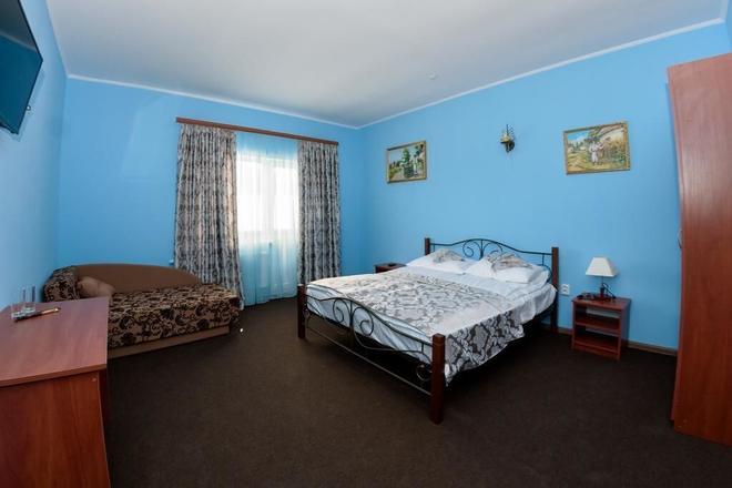 Panska Rovin Hotel - Verkhnye Husyne - Bedroom