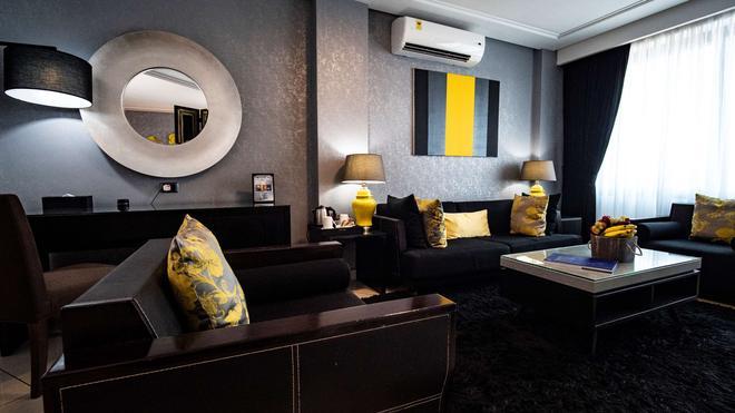 Oak Plaza Hotel, East Airport - Acra - Sala de estar