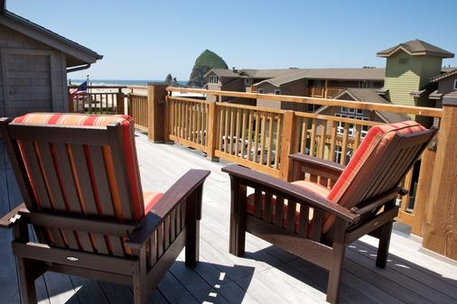 Surfsand Resort - Cannon Beach - Parveke