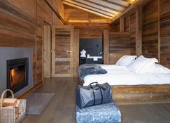 Hostellerie Du Pas De L'ours Relais Et Chateaux - Crans-Montana - Schlafzimmer