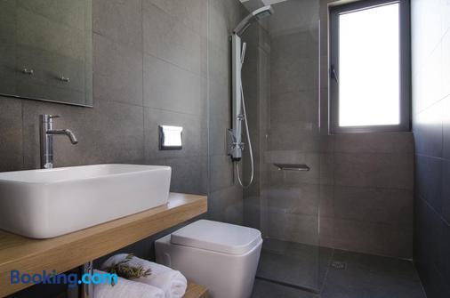 Seametry Luxury Living Apartments - Chania - Bathroom