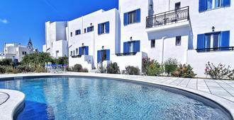 Ikaros Studios & Apartments - Naxos - Pool