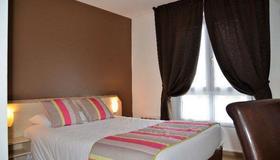 Brit Hotel Cherbourg Octeville - Cherbourg-en-Cotentin - Bedroom