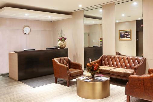 The Parc Hotel - Queens - Front desk