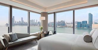 Hyatt Centric Victoria Harbour Hong Kong - Hong Kong - חדר שינה