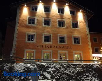Steinhauswirt - Cadipietra/Steinhaus - Building
