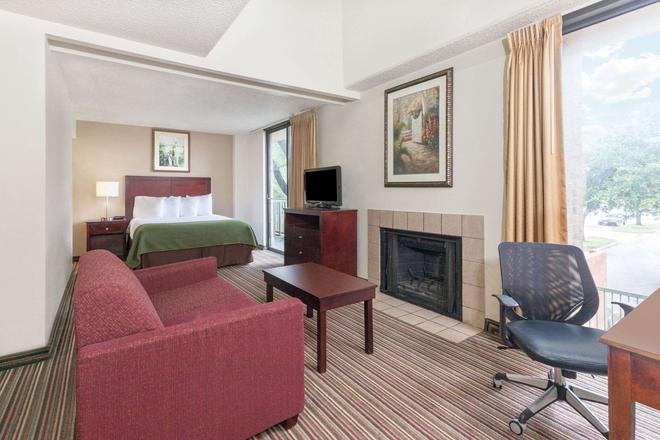 Hawthorn Suites by Wyndham Richardson - Richardson - Bedroom