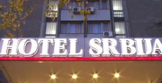 Hotel Srbija - Beograd - Bygning