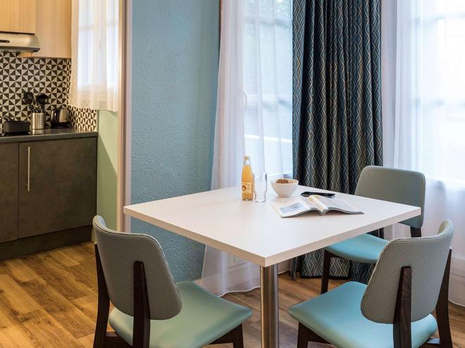 阿達吉奧漫步巴黎蒙馬特公寓酒店 - 巴黎 - 巴黎 - 餐廳