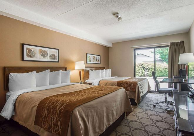 Comfort Inn - Sherbrooke - Makuuhuone