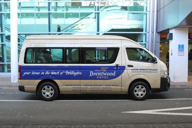 Brentwood Hotel - Wellington - Pysäköinti