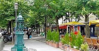 Hôtel Du Roi René - Paris - Outdoor view