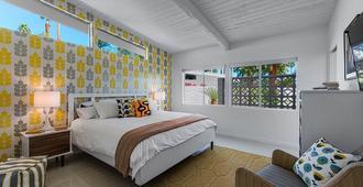 Swank House! Midcentury Designer Showplace! 4 Master Suites! Pool! Spa! Mt Views - Palm Springs - Schlafzimmer