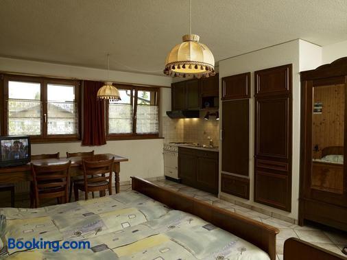 Hôtel-Gîte Rural à 3 km de Delémont - Delémont - Bedroom