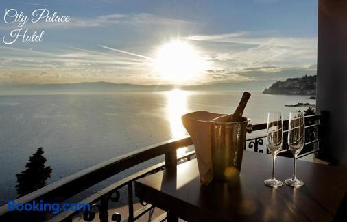 City Palace Hotel - Ohrid - Beach