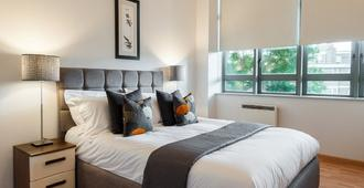 Smart City Apartments - City Road - London - Bedroom