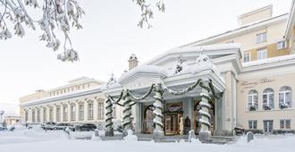 Kulm Hotel St. Moritz - Sankt-Moritz - Edificio