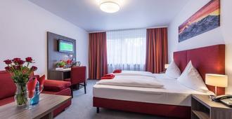 Hotel Himalaya Frankfurt City Messe - Frankfurt - Makuuhuone