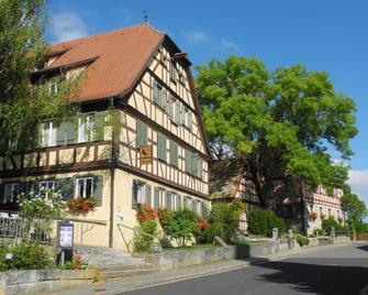 Hotel Schwarzes Ross - Rothenburg ob der Tauber - Gebäude