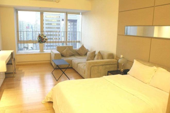Guangzhou Zhijia Apartment - Guangzhou - Bedroom