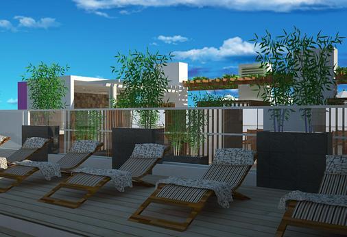 克芒費夫酒店 - 雅加達 - 南雅加達 - 陽台