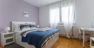 Paw Rooms - Zagreb - Bedroom