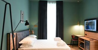 ذا بويت هوتل - لا سبيزيا - غرفة نوم