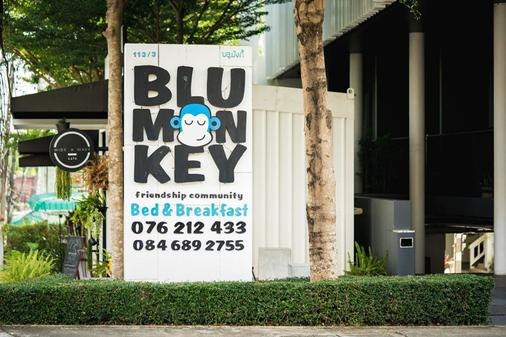 Blu Monkey Bed & Breakfast Phuket - Phuket - Utomhus
