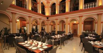 Hotel Ciudad Real Centro Historico - סן קריסטובל דה לס קאסאס - מסעדה