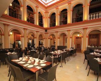 雷阿爾城特羅歷史大酒店 - 聖克立斯托巴-拉斯 – 卡沙斯 - San Cristóbal de las Casas - 餐廳