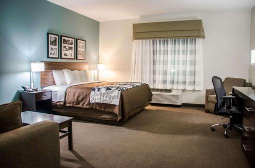 Sleep Inn & Suites - Center - Schlafzimmer
