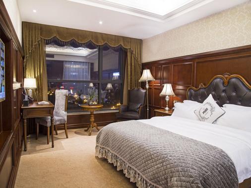 Yiwu Yue Ting International Hotel - Yiwu - Bedroom