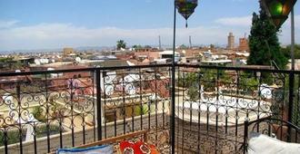 Riad Layla Rouge - Marrakech - Balcony
